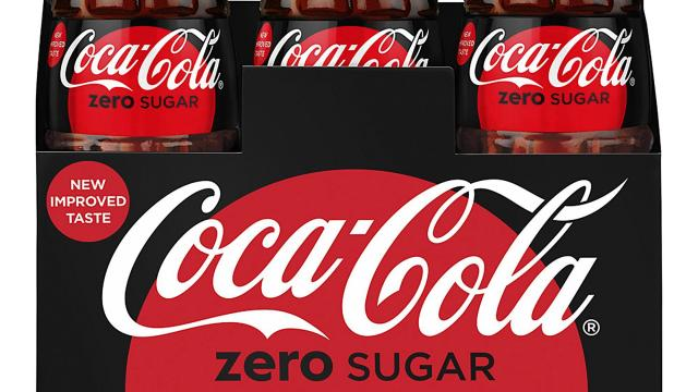 This photo provided by Coca-Cola shows a six-pack of bottled Coca-Cola Zero Sugar. Coke Zero is getting a makeover as Coke Zero Sugar in the United States. The new cans and bottles, which will incorporate more red like regular Coke, will start hitting shelves in August 2017. The company says people didn't always understand that Coke Zero's name means it has no calories. The push comes as Diet Coke's sales continue to decline. (Rodger Macuch/Courtesy of Coca-Cola via AP) (Deseret Photo)