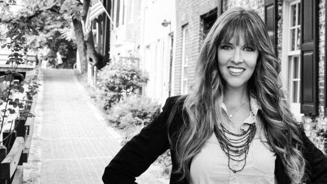 Emily Hardman, president of Amicus Communications. (Deseret Photo)