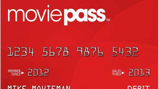 As Bloomberg reported, MoviePass, which helps feed people's film habits by giving them movie theater passes for a monthly fee, recently dropped its monthly subscription price to $9.95... (Deseret Photo)