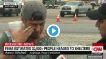 IMAGE: Video: Texas man breaks down when he discover his father is alive after Hurricane Harvey