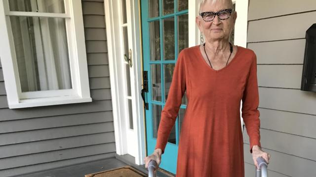 Dee, of Raleigh, is one of 300,000 people over age 65 to slip and fall and break a hip this year.