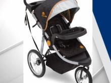 Delta 'jogging' strollers recalled due to fall hazard