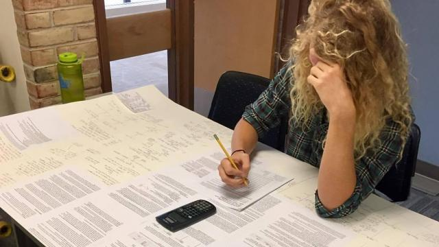 A student named Elijah Bowen took advantage of the rules on a recent exam for his financial accounting class over at Anne Arundel Community College in Maryland. (Deseret Photo)