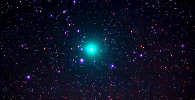 Christmas Comet.How You Can See The Green Christmas Comet This Week