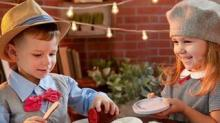 IMAGE: Fisher-Price Sells A Charcuterie Set For Kids With Fake Brie And Faux Marble Plates