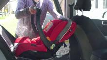 IMAGE: Don't clean child car seats with harsh chemicals