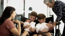 IMAGE: Couple Welcomes Identical Twin Girls 6 Years After Having Identical Twin Boys