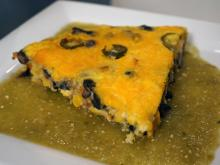 Local Dish: Sweet potato and black bean frittata