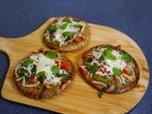 Local Dish: Individual chicken pizzas