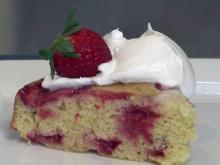 Local Dish: Strawberry upside down cake