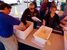 The annual Crime Stoppers barbecue is a big fundraiser and an awaited event in Fayetteville.