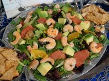 Local Dish: Shrimp citrus salad