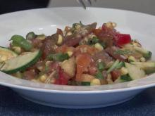 Local Dish: Fresh vegetable salad