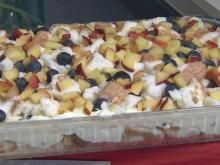 Local Dish: Peach blueberry delite