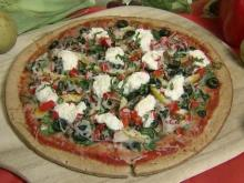 Local Dish: Vegetable pizza