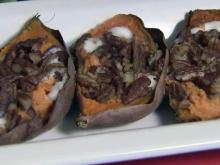 Local Dish: Twice baked sweet potatoes
