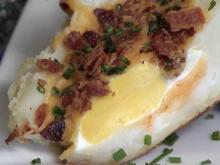 Local Dish: Breakfast baked potato