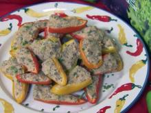 Stuffed pepper appetizers