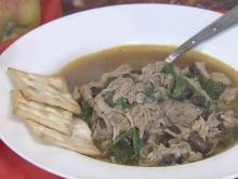 Pork bean soup