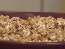 Bacon and beer caramel popcorn