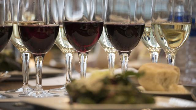 A Thanksgiving wine panel, in New York, Oct. 15, 2018. Agile, energetic wines that are versatile with many foods are best for the holiday feast. But with delicious food and lively company, it's hard to go wrong. (Tony Cenicola/The New York Times)