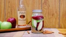 IMAGE: We Tried Infusing Our Own Apple And Cinnamon Vodka—here's How It Turned Out