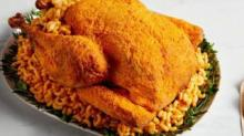 IMAGE: This Mac And Cheese Turkey Features The Cheesy Powder From Your Favorite Boxed Version