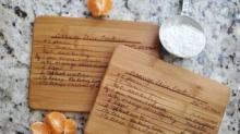 IMAGE: You Can Get Your Handwritten Family Recipes Made Into Keepsakes