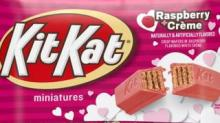 IMAGE: These New Pink Raspberry Creme Mini Kit Kats Are Perfect For Valentine's Day