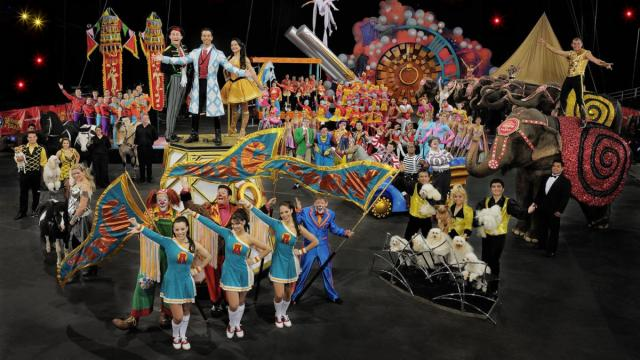 Ringling Bros. presents ZING ZANG ZOOM at the RBC Center in February.
