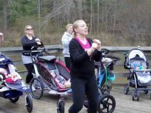 Stroller Strides kicks off in Apex