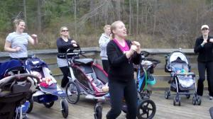 Stroller Strides is a new mom and baby workout program.
