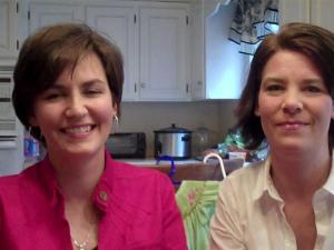 Karen Dorman and Michelle Zimmeran run Twice As Nice Consignment Sale.