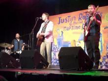 Justin Roberts performs We Go Duck