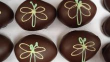Chocolate Easter eggs from Chocolate Smiles