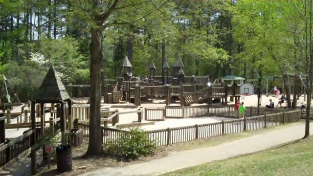All Children's Playground will eventually be demolished for Sassafras All Children's Playground.