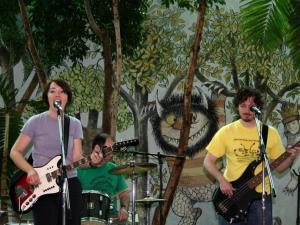 Lunch Money, the kindie rock group, will perform at the CoolKidz Expo April 17.