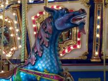 Northgate features carousel, kiddie train