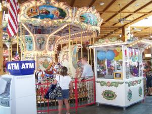 Carousel at Cross Creek Mall in Fayetteville