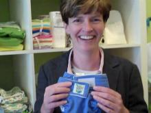Mom creates cloth diaper line