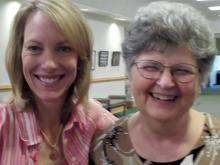 Susan Hewlett and Martha Hedge