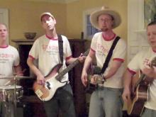 Sandbox Band sings original song 'Why?'