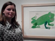 Jennifer Dalas, curator of Fins and Feathers
