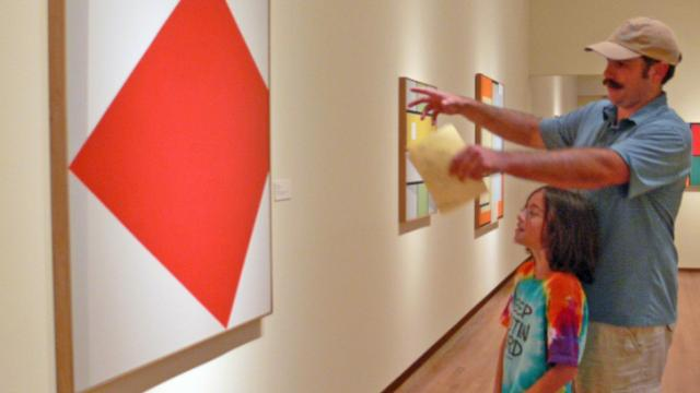 Family Day at the Nasher Museum of Art