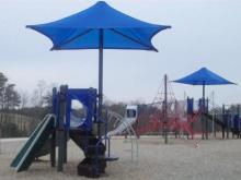 Playground at North Wake Landfill District Park
