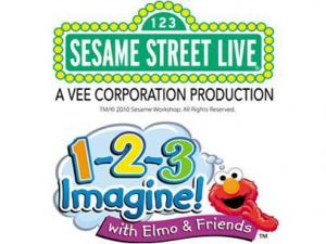 1-2-3 Imagine! with Elmo & Friends will stop at the RBC Center in June 2011.