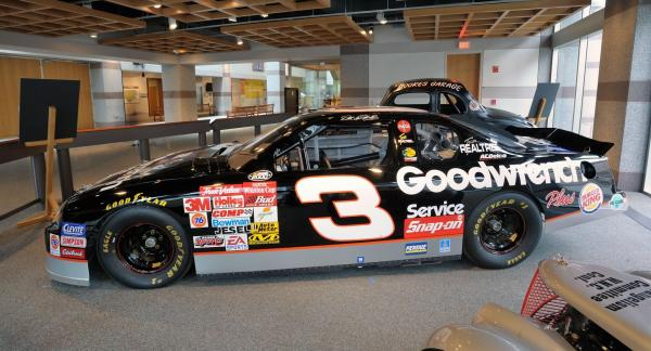 Dale Earnhardt's car