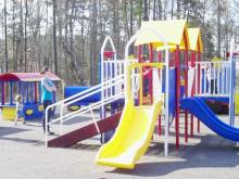 Playground at Brier Creek Community Center