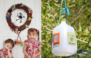 Erin James, Go Ask Mom's crafty mom, offers up some Earth Day craft ideas.
