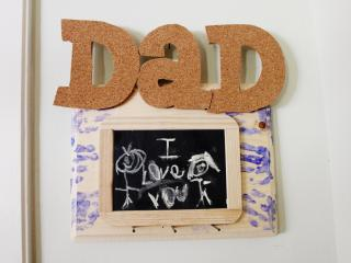 Erin James, a Go Ask Mom blogger, offers this craft for dad.